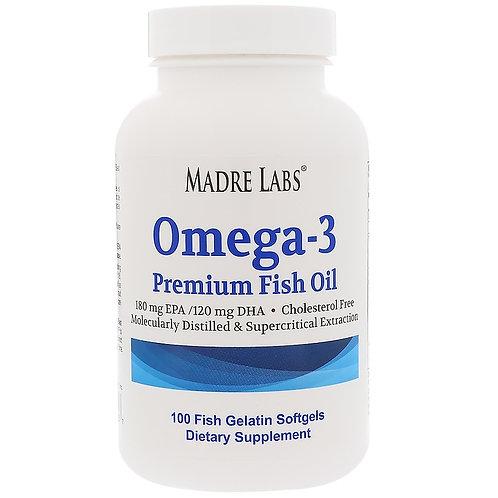 Madre Labs Omega-3, Рыбий жир