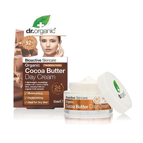 Dr Organic Cocoa Butter Дневной крем