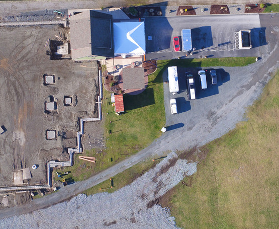 CenterPoint 2021 Drone Shot of Property.