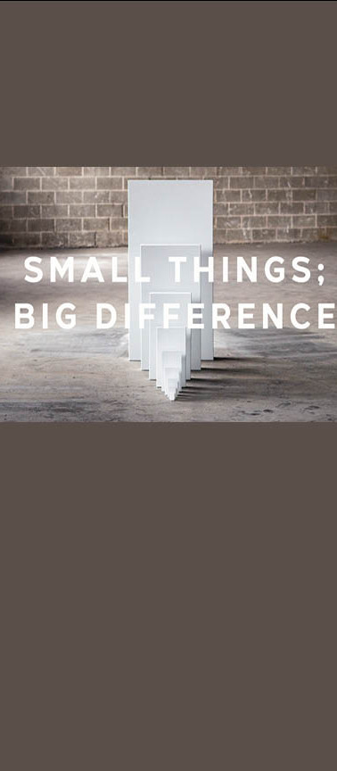 2021 SMALL THINGS BIG DIFFERENCE bulleti