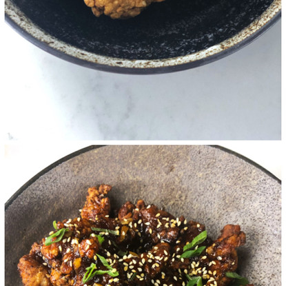 Crispy, Crunchy, Juicy, Tasty Fried Chicken!!! Asian Buttermilk Fried Chicken Served two ways!