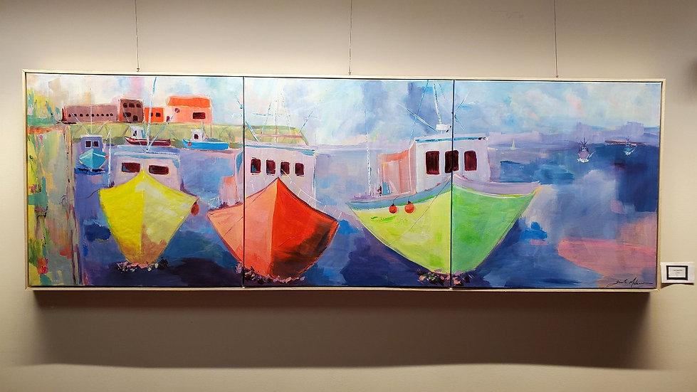 Les bateaux de peche