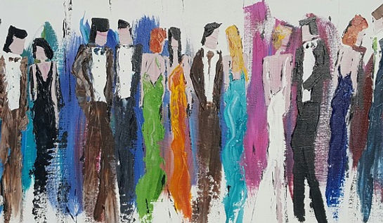 Beautiful People Painting