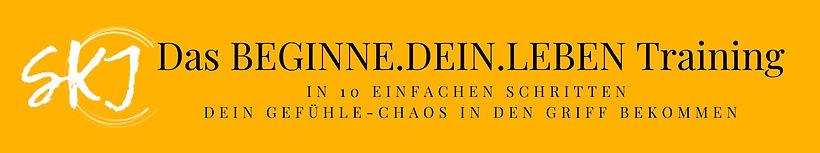 Das BEGINNE.DEIN.LEBEN Training Logo