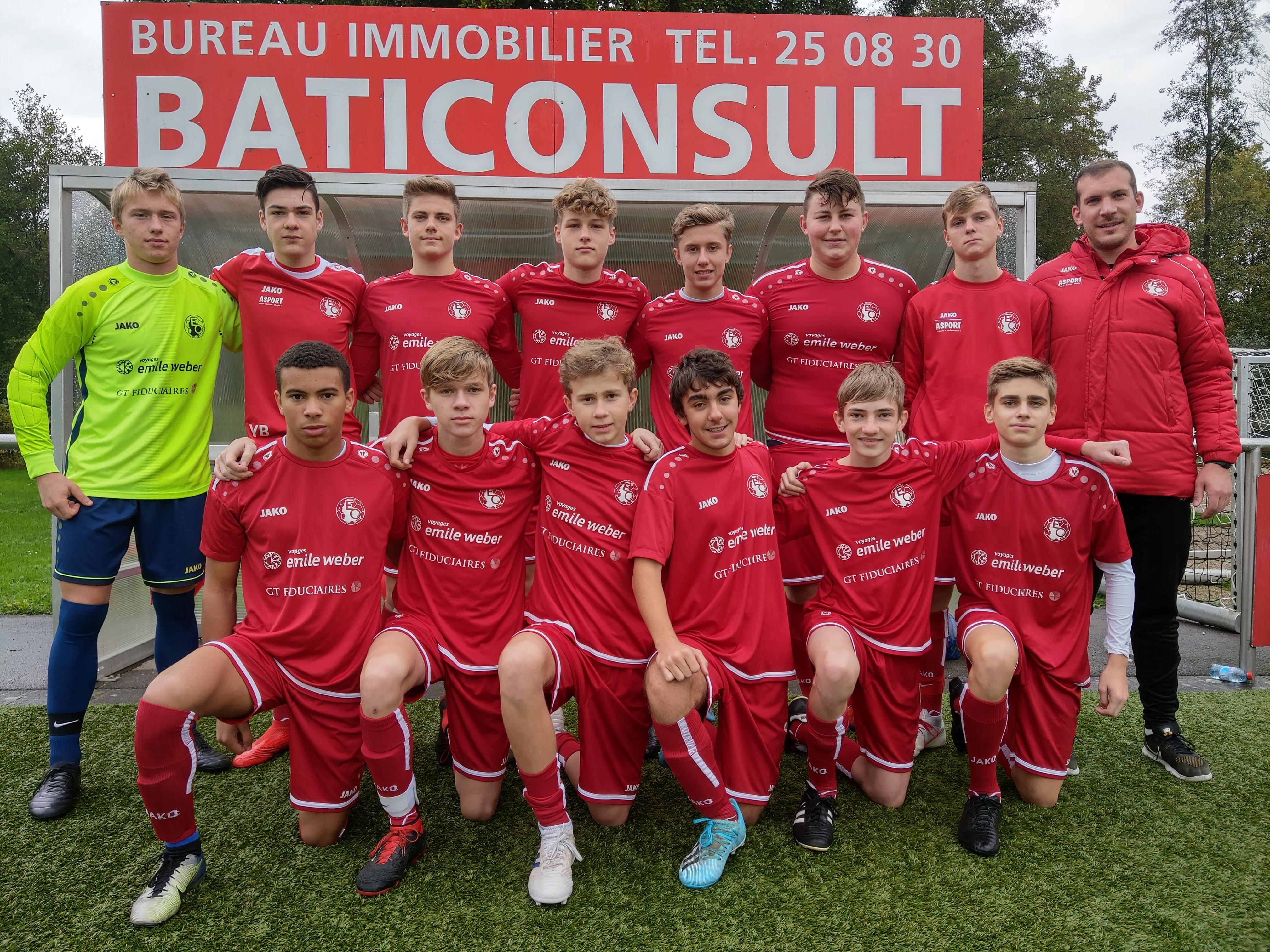 Cadets 19-10-2019 vs Una Strassen