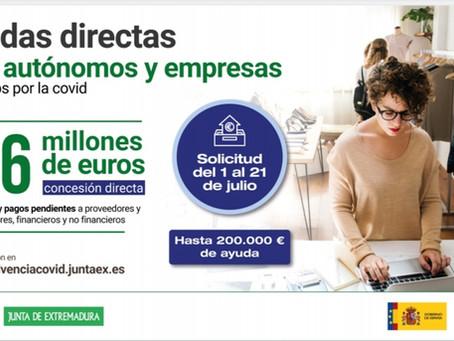 Ayuda Junta de Extremadura