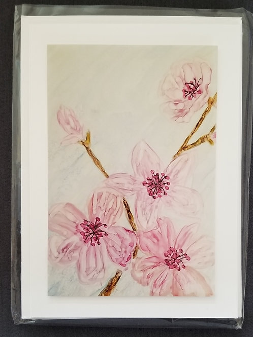 Original Print - Cherry Blossoms (4 pack)