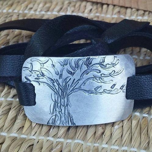Tree of Life / Family Tree Wrap Bracelet