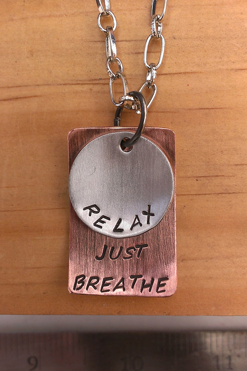 """Relax"" - 2pc different shapes charm set (Round/Rectangle)"