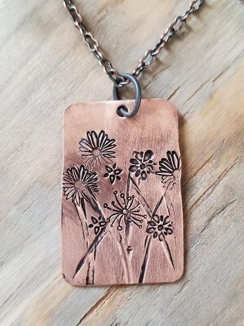 Field of Wildflowers (Copper)