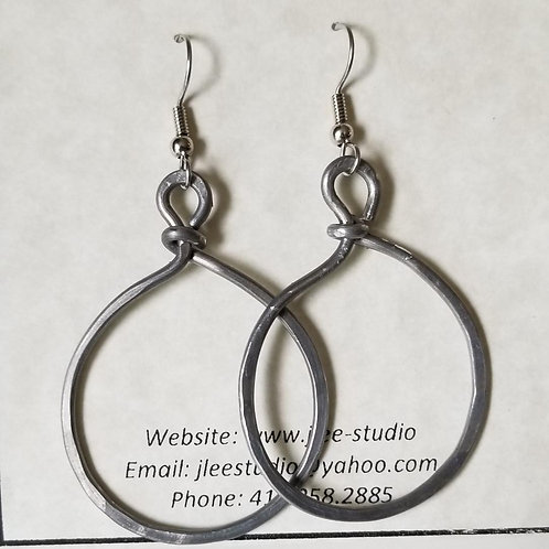 Recycled Electrical Wire Hoops
