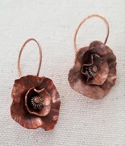 2019 - Abstract flower earrings