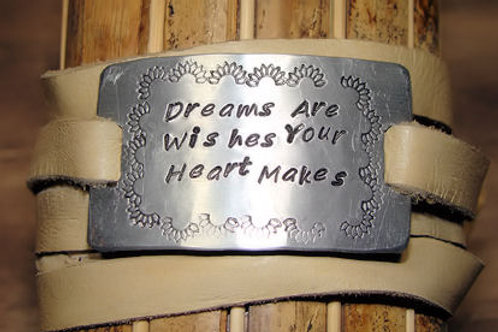 Dreams are wishes Your Heart Makes Bracelet