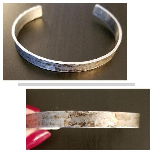 Distressed Aluminum Cuff