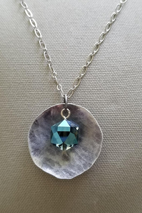 Full Moon with Antique Crystal