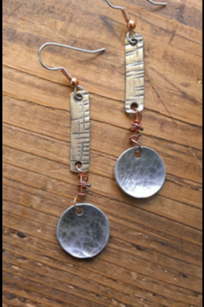 """""""A Measure Above the Rest"""" Earrings"""