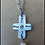 Thumbnail: Decorative Cross w/Fresh Water Pearl Necklace