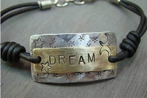 Dream ~ Double Plate Bracelet