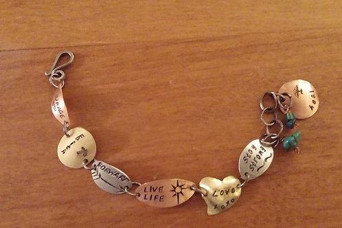 Live Life Bracelet (Oval)