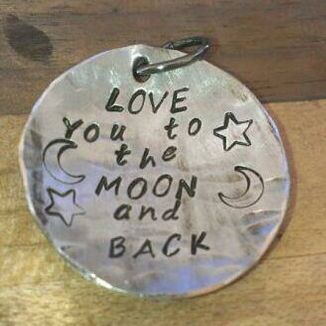 Love you to the Moon... Round