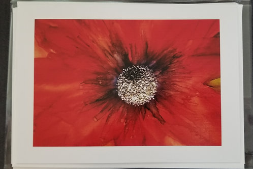 Original Print - Red Abstracts (4 pack)