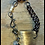 Thumbnail: Decorative Plate Bracelet w/Natural Stones