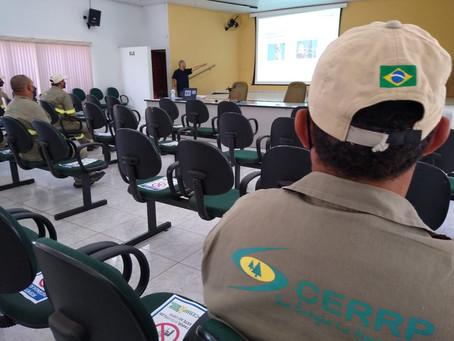 CERRP realiza treinamento para prevenir acidentes no trabalho em altura