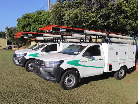 Três novos veículos são incorporados à frota da CERRP