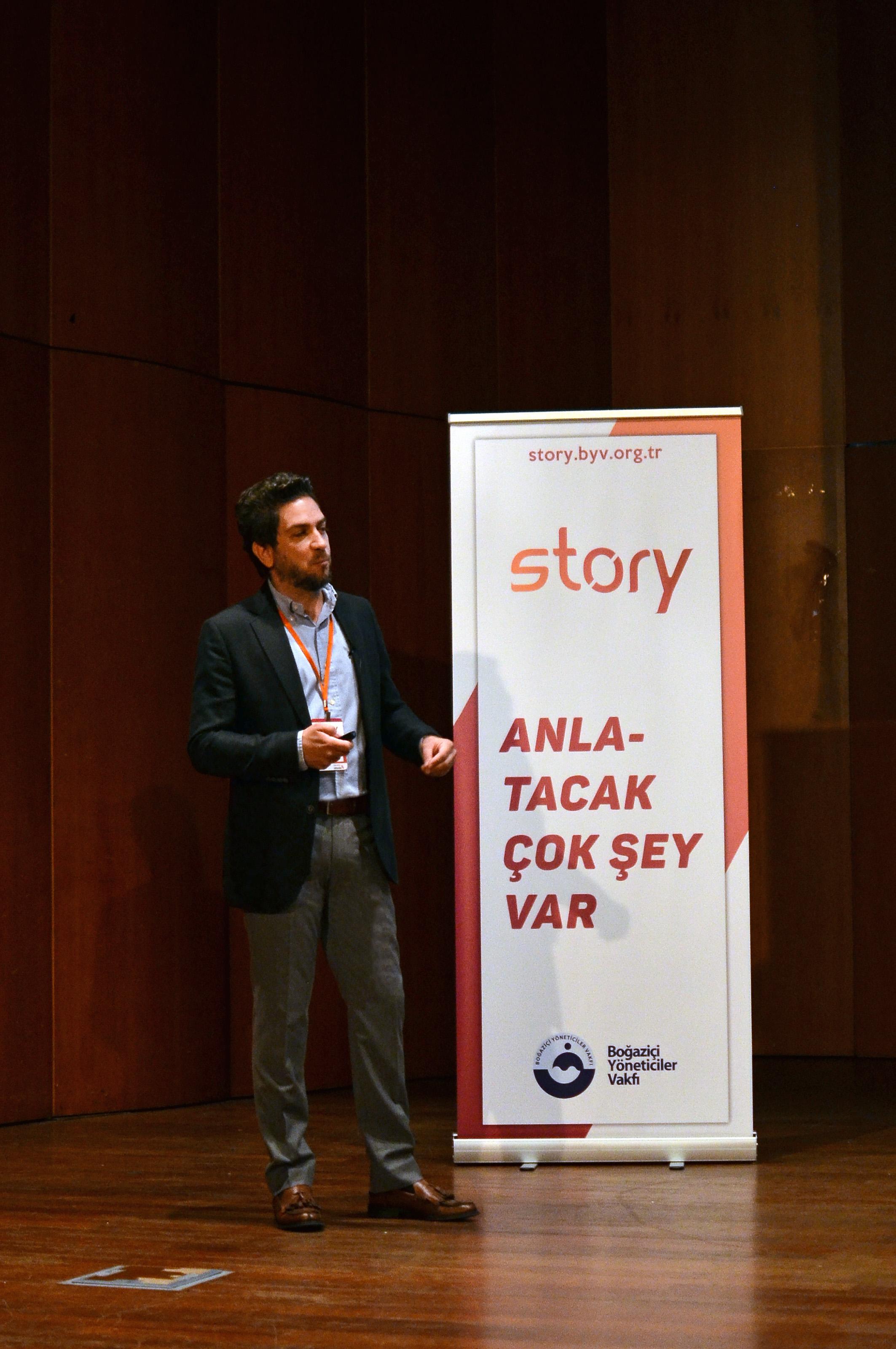 Story 2018 Alp Köksal Boğaziçi Üni