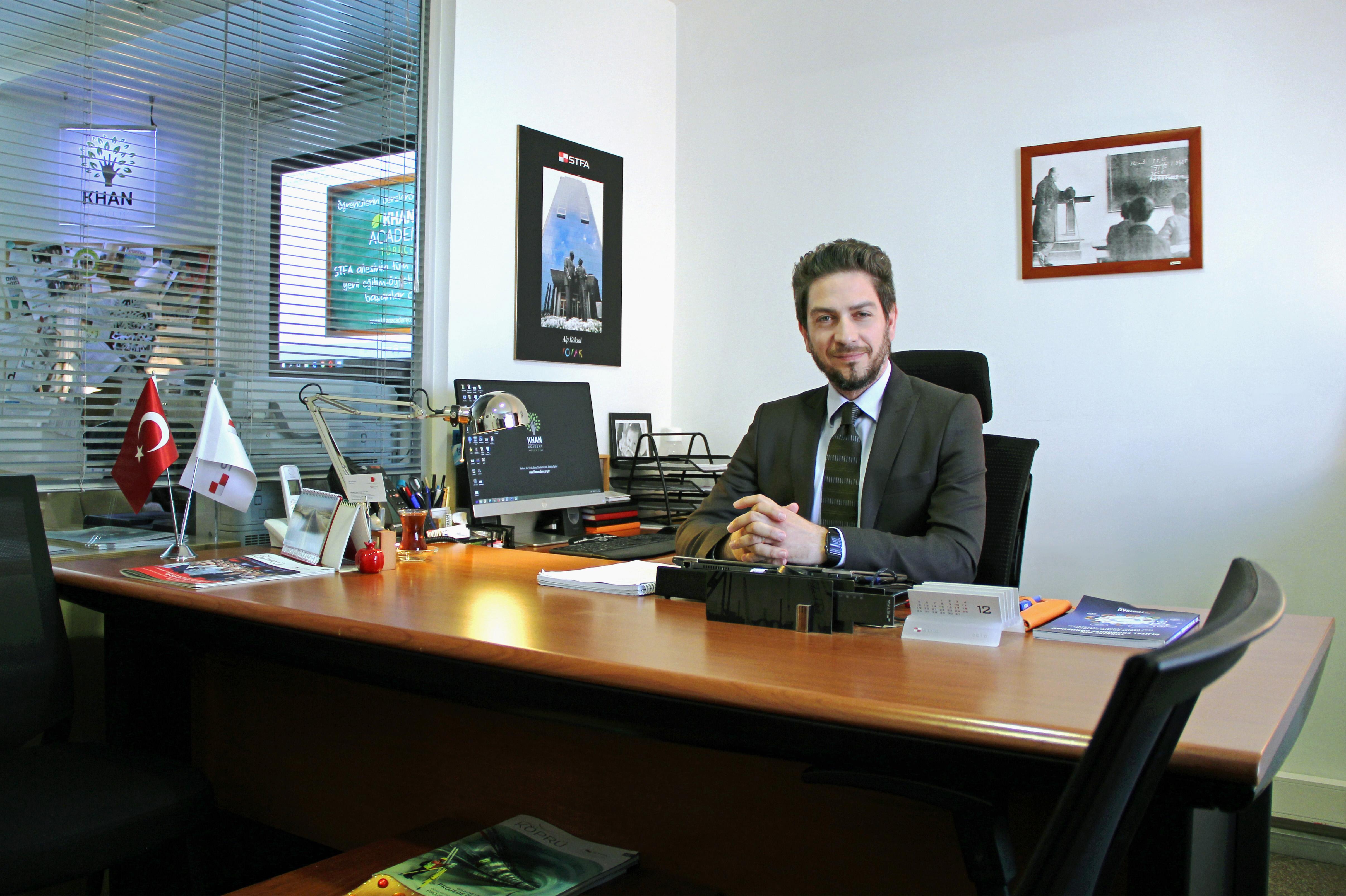 Alp Köksal STFA Eğitim STK Yönetici