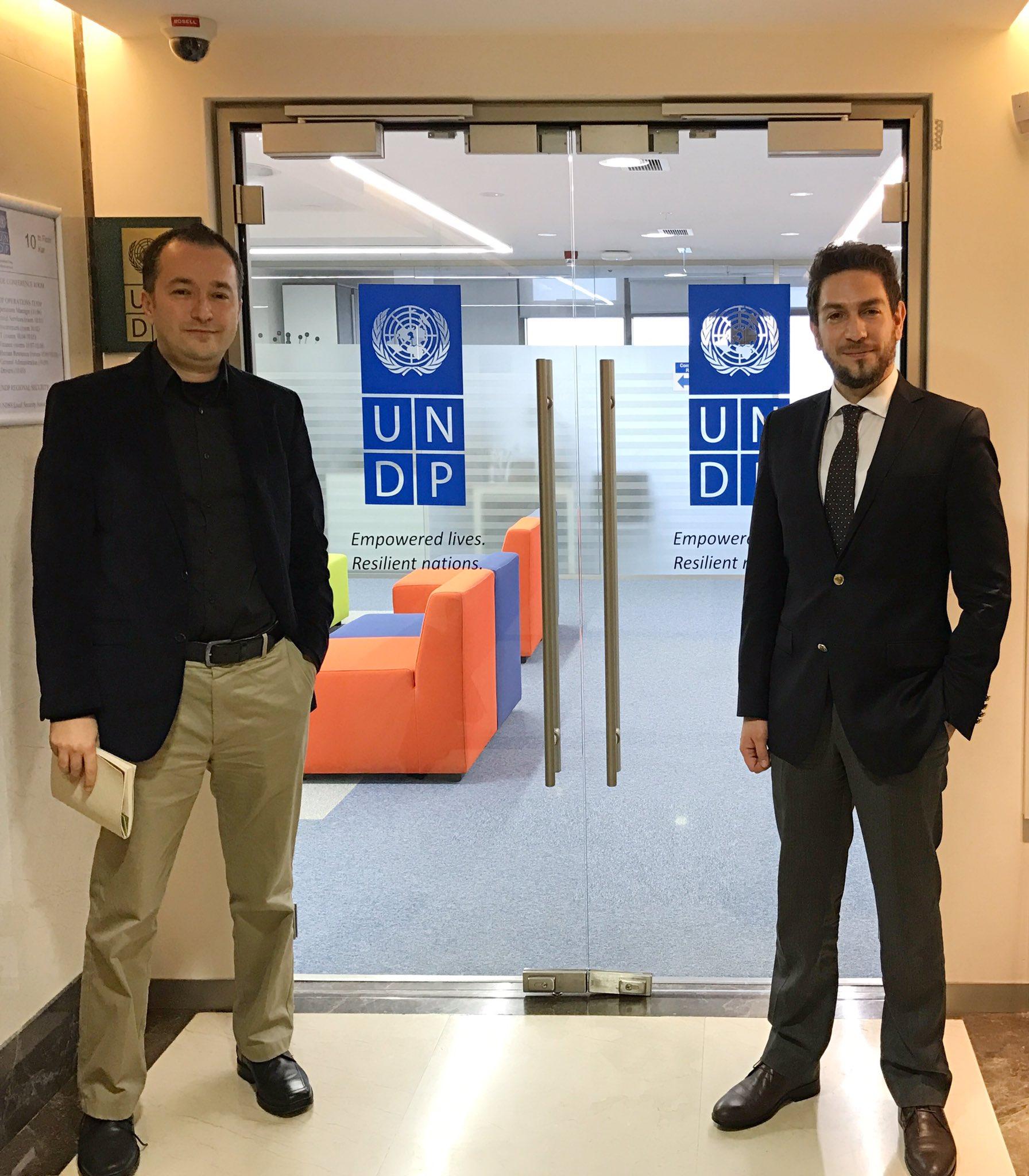 Alp Köksal & Faik Uyanık (UNDP)