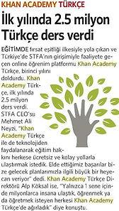 Khan Academy Türkç 2.5 Milyon Ders - Alp Köksal