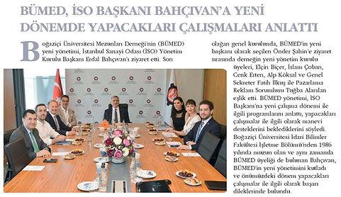 İstanbul Sanayi Odası (İSO) Bümed Alp Kö