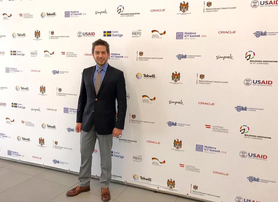 Moldova ICT Summit Alp KOKSAL