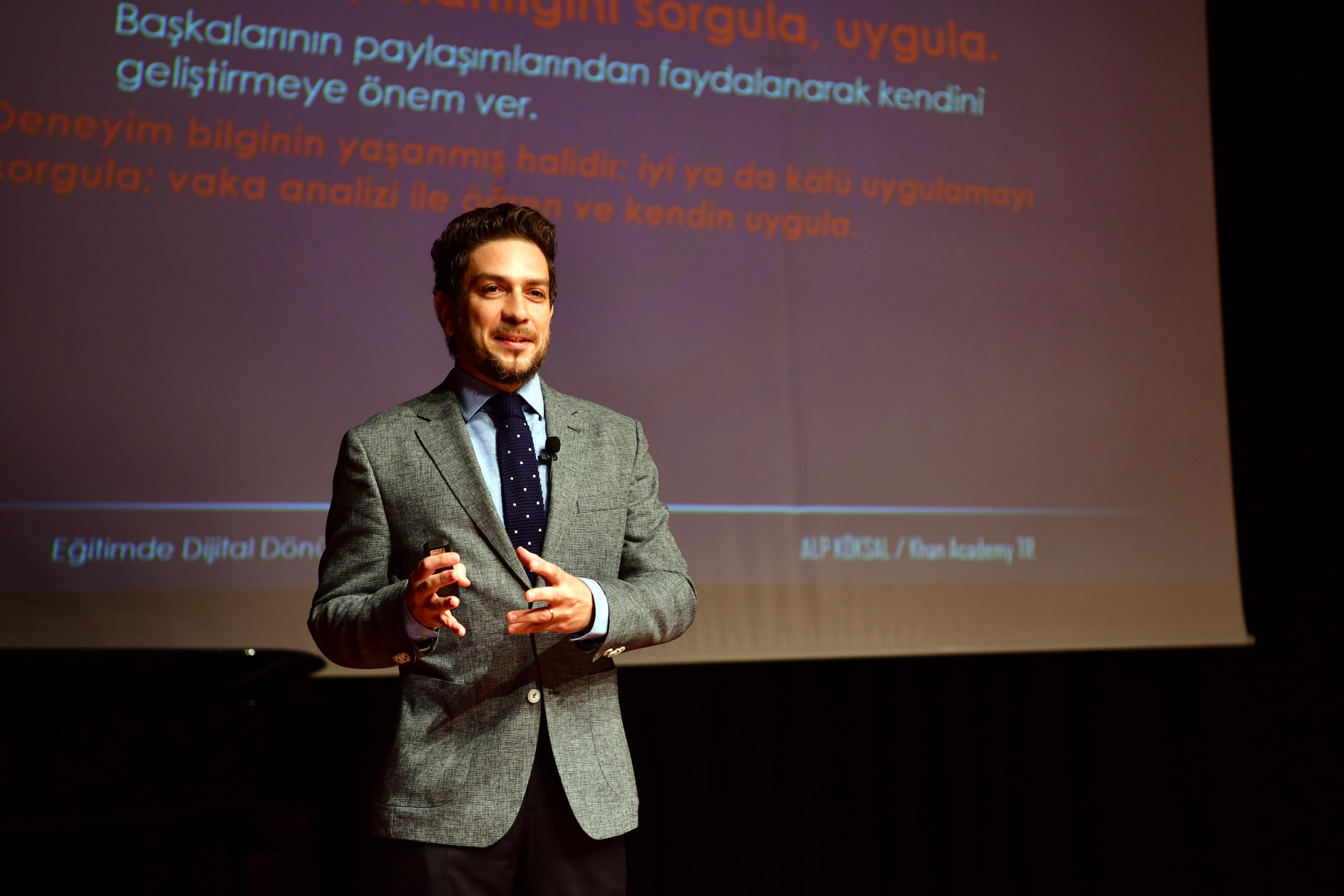 Alp Köksal - Üniversite Keynote Konuşmac