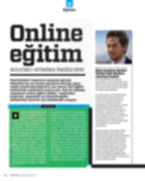Alp Köksal - Online Eğitim Sınırları Ortadan Kaldırıyor, Digital Age Haberi