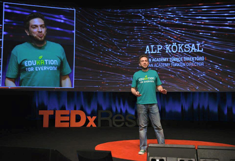 Alp Köksal - TED Talks (TEDxReset)