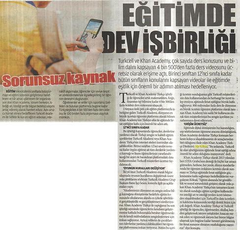 Alp Köksal - Khan & Turkcell İşbirliği Haber
