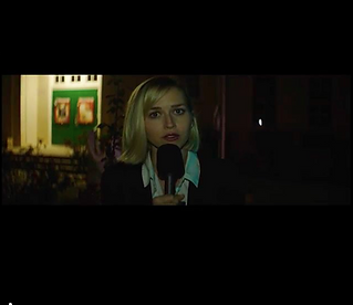 Emily Killian as Reporter in the new Death Note remake from Re-Anime