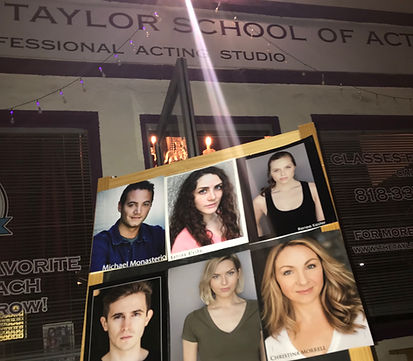 Emily graduats from Meisner program at Taylor Studio