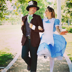 Fell down a rabbit hole! Love _working_ at #alicestravelingteaparty with _ianwats