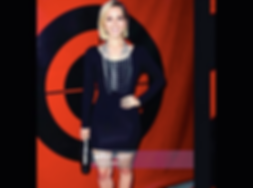 Emily Killian walks the red carpet for Mike Boy