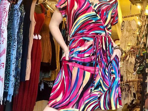 Go-To Wrap Dress
