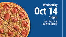 Eat Pizza to Support the Clinic