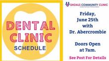 Dental Clinic June 25th