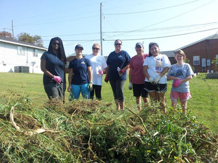Day of Caring - Community Garden