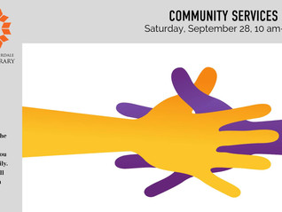 Community Services Fair - Sept 28