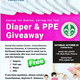 Diaper & PPE Giveaway
