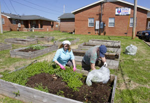 Community Garden Volunteer Time