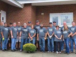 Constellium Volunteers at Great Day of Caring event